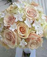 ramo novia rosas decoración floral trébole floristería pola de laviana asturias