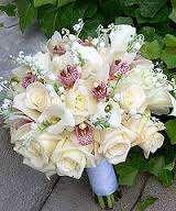 bouque novia rosas decoración floral trébole floristería pola de laviana asturias