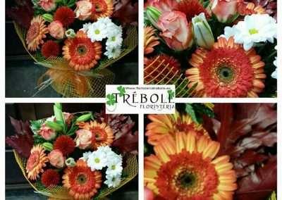 Ramos otoñal para regalo en floristeria trebole en Pola de Laviana en la cuenca del Nalón Asturias