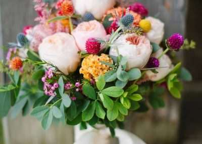 ramos de novia en floristeria trebole en pola de laviana en la cuenca del nalon en asturias