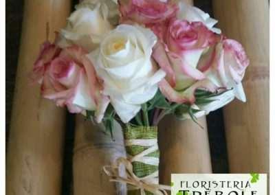 ramo de novia en floristeria trebole en pola de laviana en la cuenca del nalon en asturias