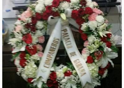 corona funeral centros ramos funeral en floristeria trebole en pola de laviana 33980 en la cuenca del nalon en asturias