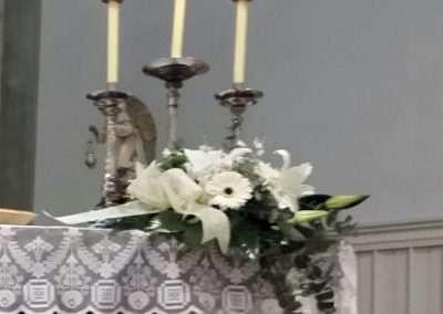 bouquet de altar,flores para bodas en floristeria trebole en pola de laviana en la cuenca del nalon en asturias