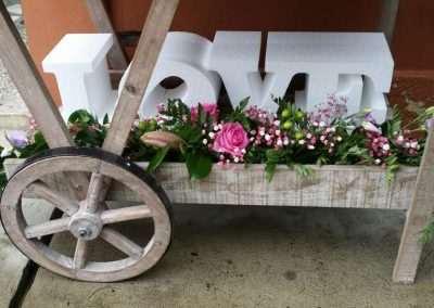 floristería trébole exteriores