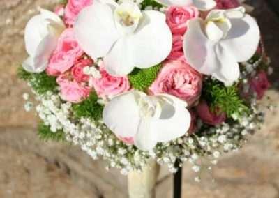 ramos de novia ,bodas,en floristeria trebole en pola de laviana en la cuenca del nalon en asturias