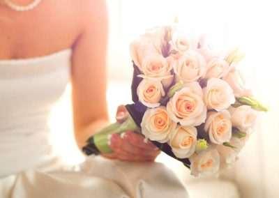 ramos de novia ,bodas eventos en floristeria trebole en pola de lavaian en la cuenca del nalon en asturias